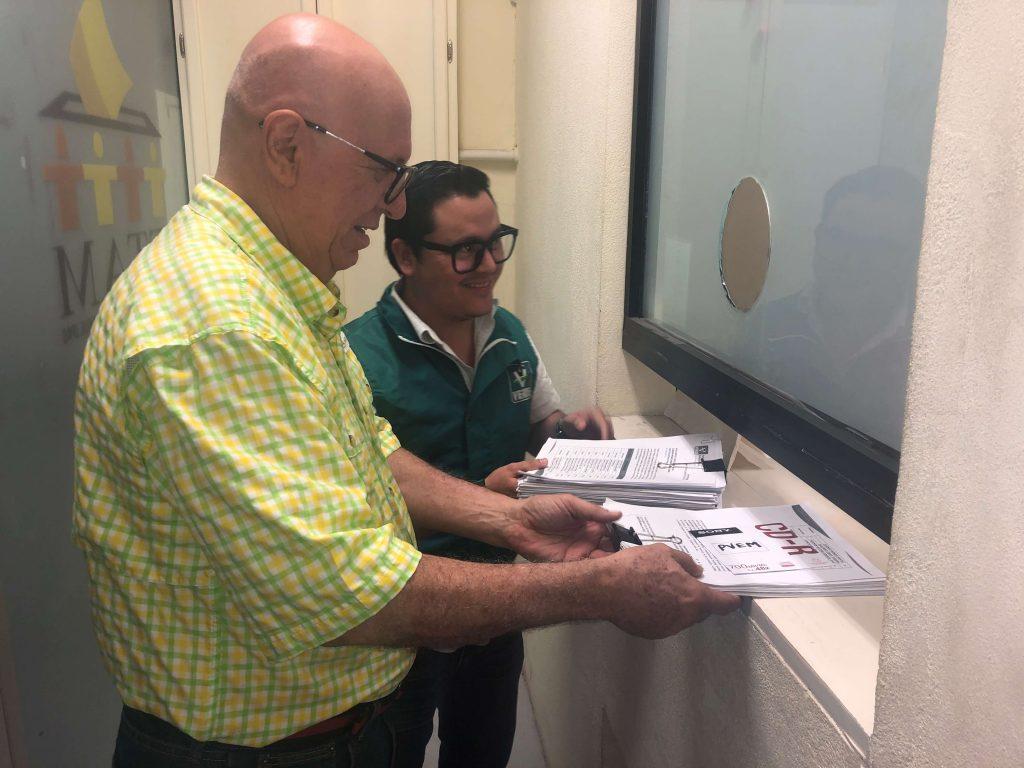 Registra el Partido Verde Tamaulipas candidatos en los 22 distritos electorales