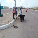 Intensifican Limpieza de Playa Miramar