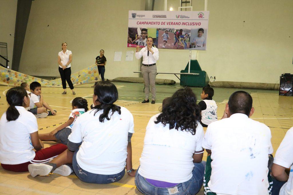 """DIF Madero realiza clausura del """"Campamento de Verano Inclusivo 2019"""