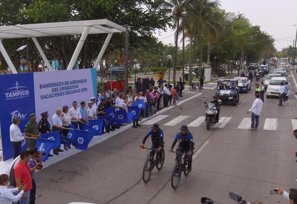 Refuerza Policía Estatal sur de Tamaulipas con 500 elemetos más por vacaciones de verano