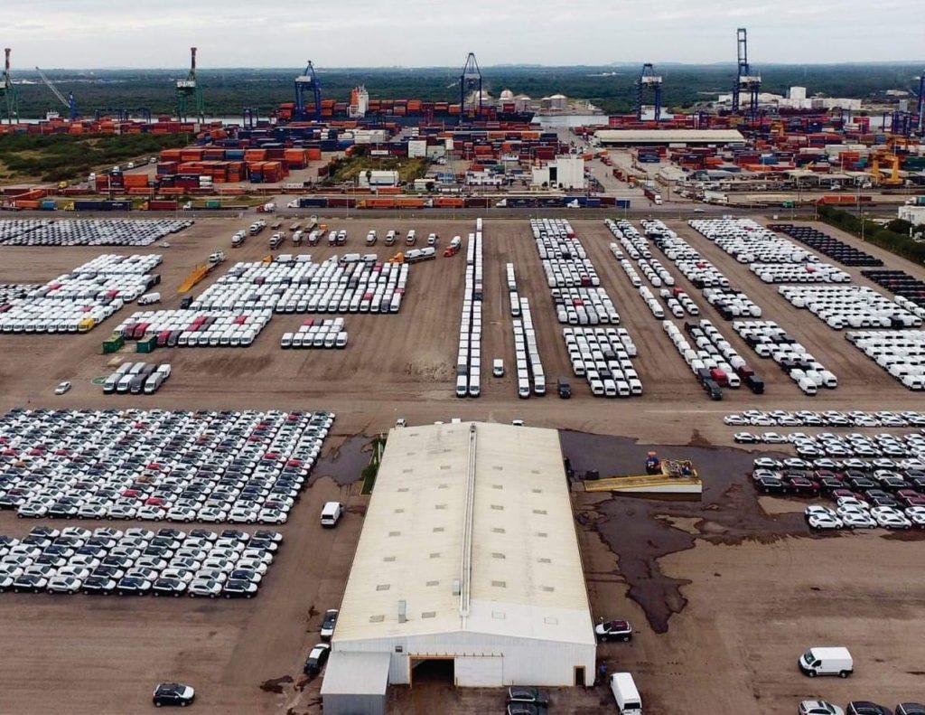 Crece 19% carga automotriz en Altamira