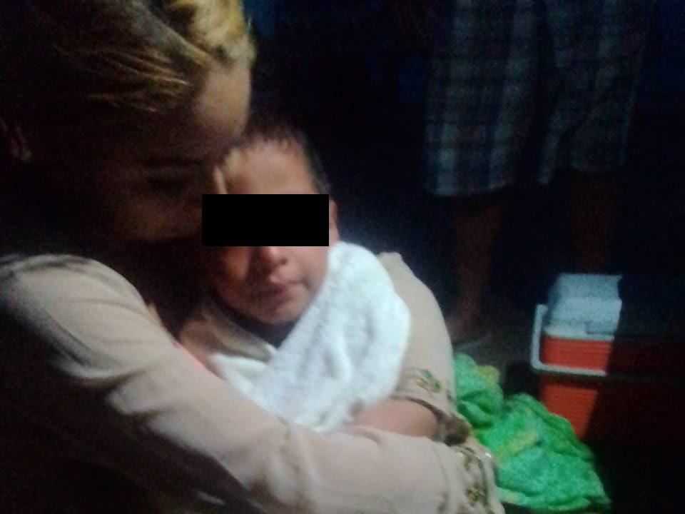 Niño abandonado en Miramar sigue sin ser reclamado por familires
