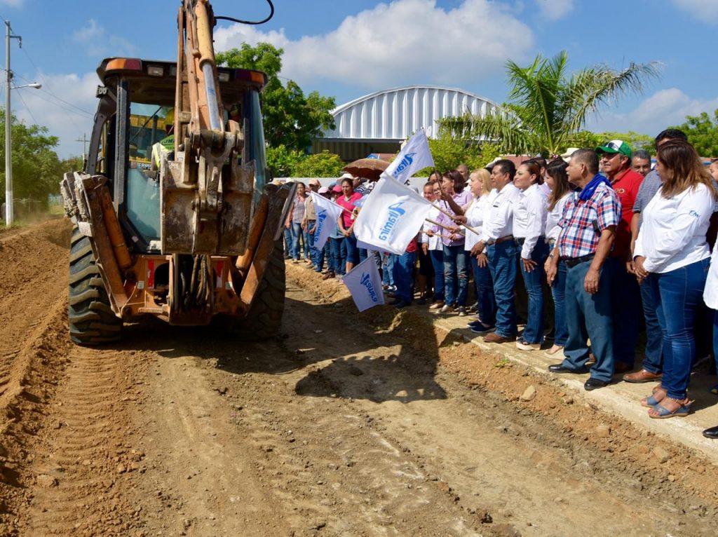 Con inversión superior a los 5 mdp procede pavimentación en Altamira