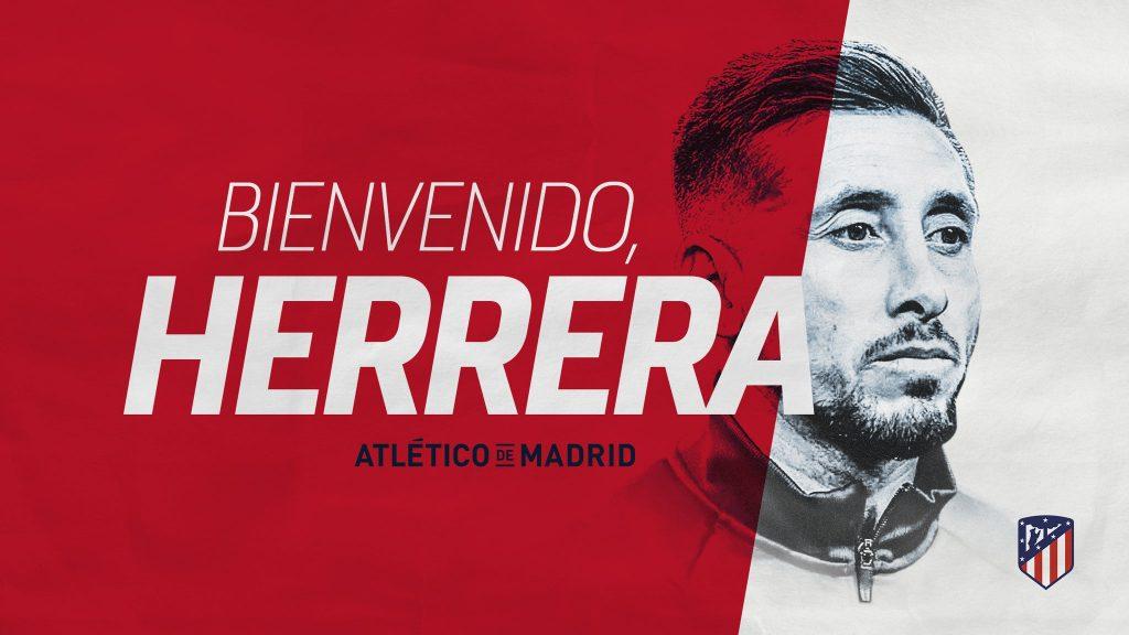 Es oficial, Héctor Herrera es nuevo jugador del Atlético de Madrid