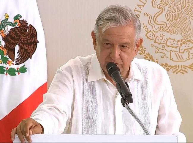 Destaca López Obrador avance de Campeche en seguridad