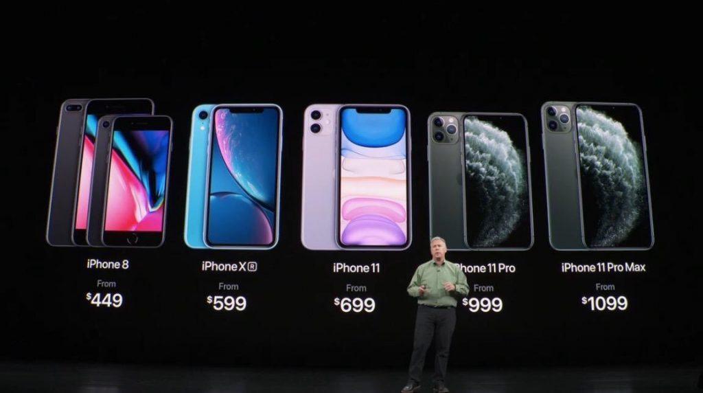 Y aquí estan los nuevos modelos de Iphone…para que vayas ahorrando