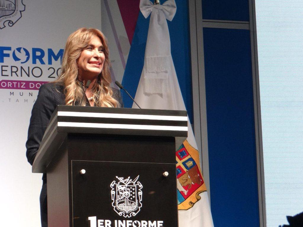 Rinde su primer Informe Maki Ortiz, la alcaldesa mejor posicionada de Mexico