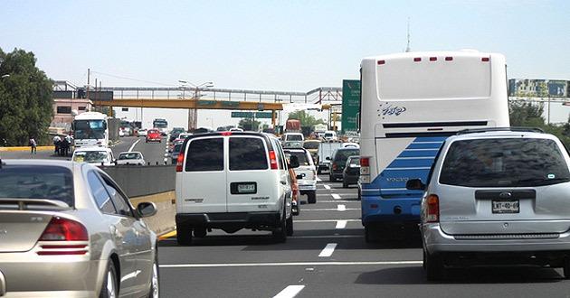 Autopista México–Pachuca, la de mayor aforo vehicular esta mañana
