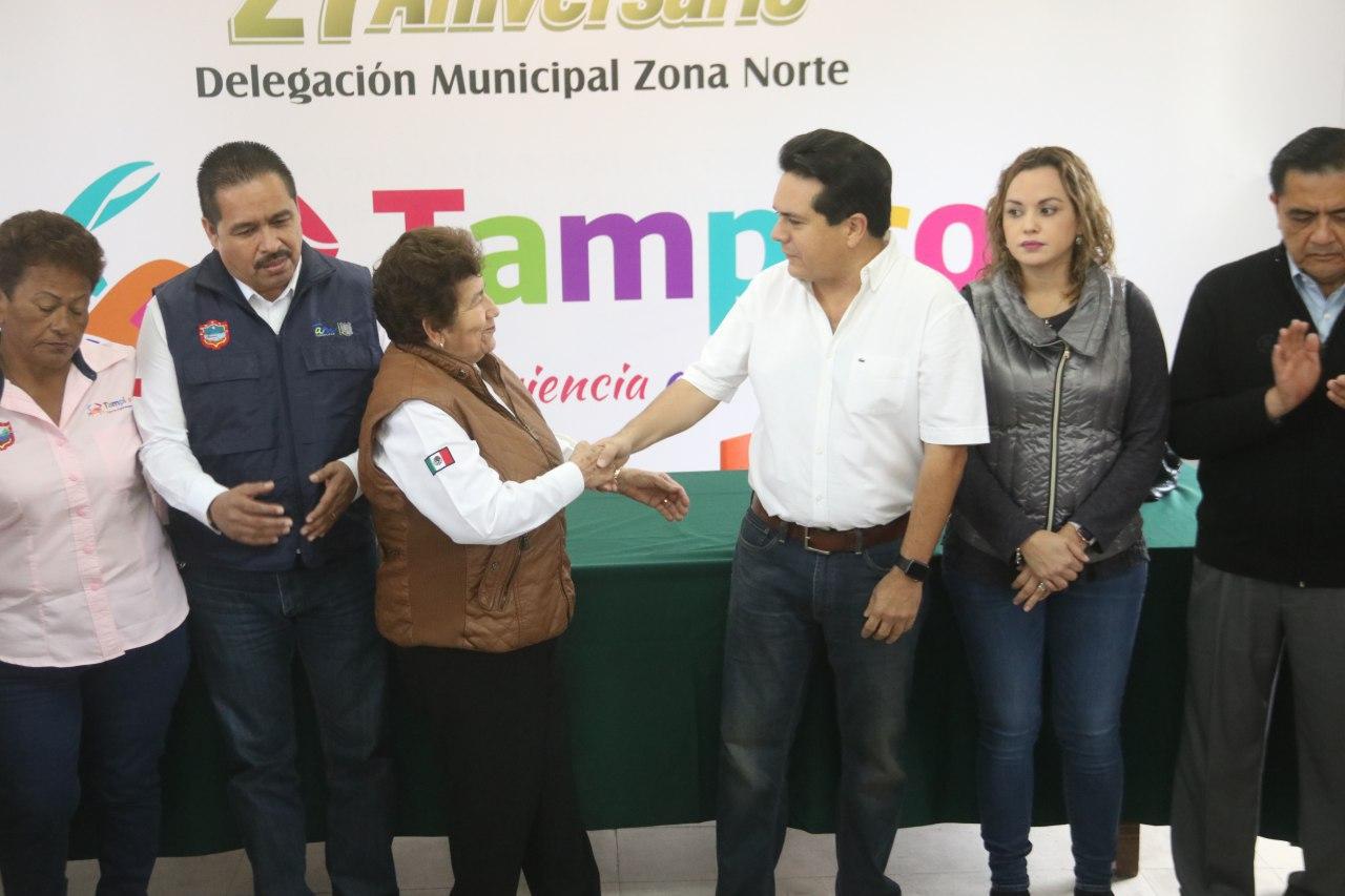 Nombra Peraza nuevo delegado en la zona norte