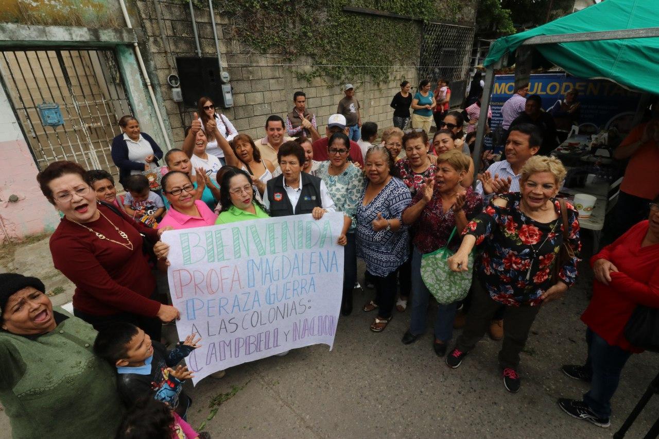 Traslada Ayuntamiento porteño jornada Médico – Asistencial a la colonia Nacional