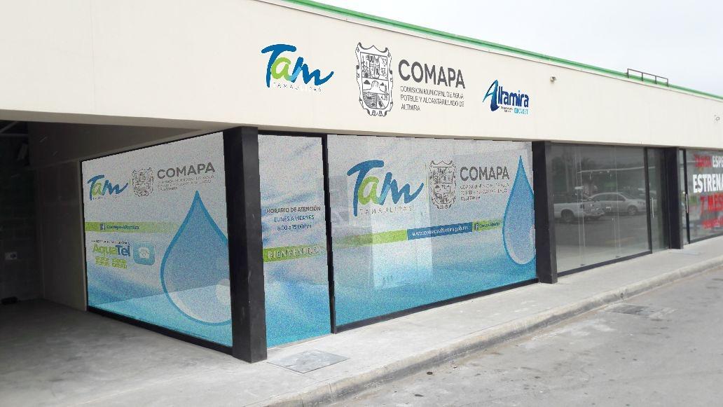 Abrirá Comapa Altamira nuevo módulo de atención en la Zona Centro