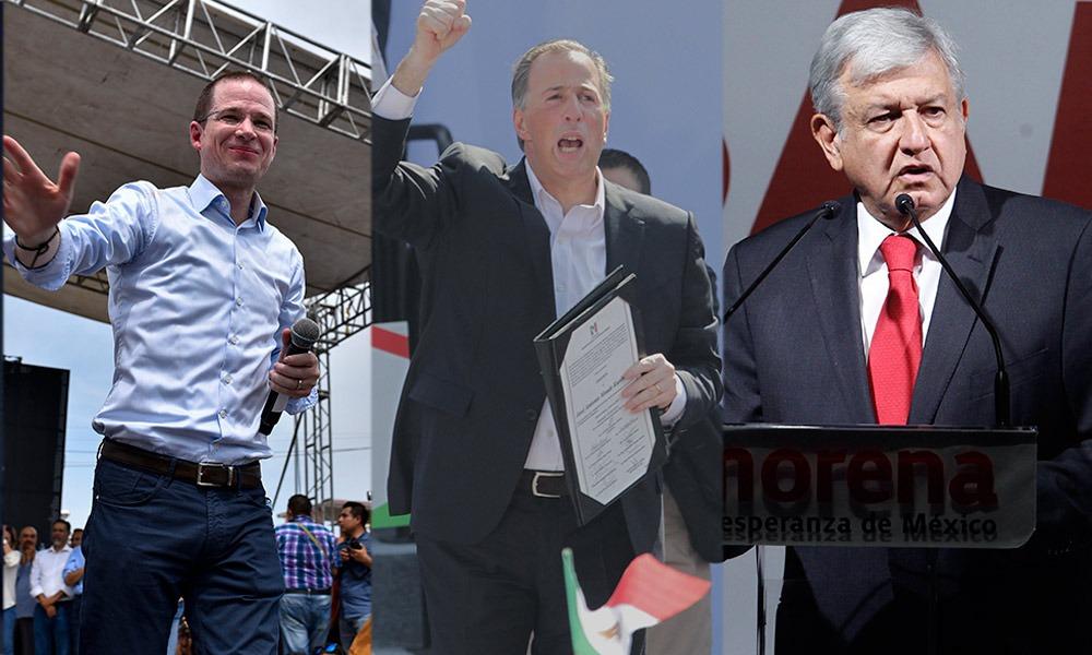 Meade, Anaya y López Obrador estarán en la boleta electoral