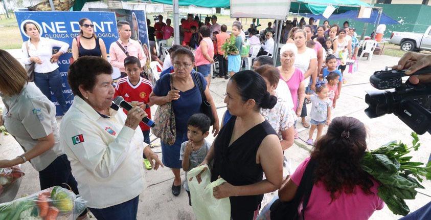 Cientos de personas fueron beneficiadas con jornada  Médico-Asistencial en la colonia Esfuerzo Obrero
