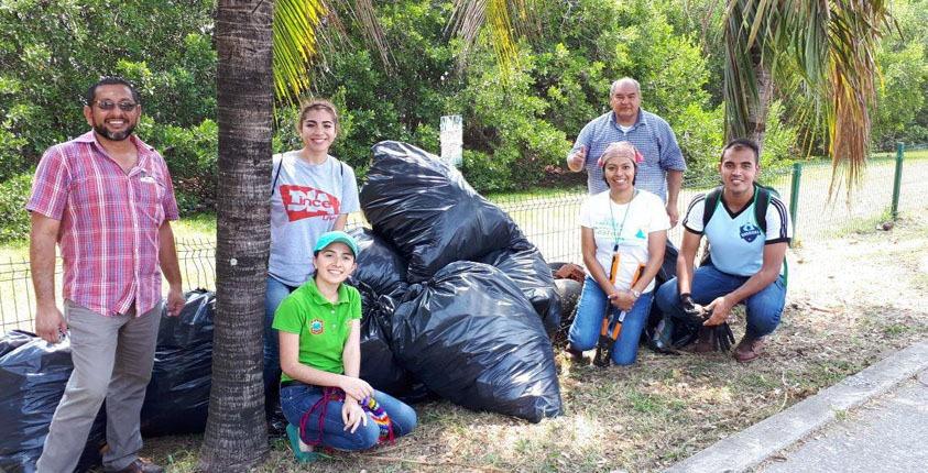 Realiza gobierno de Tampico jornada de  limpieza en la Laguna del Carpintero