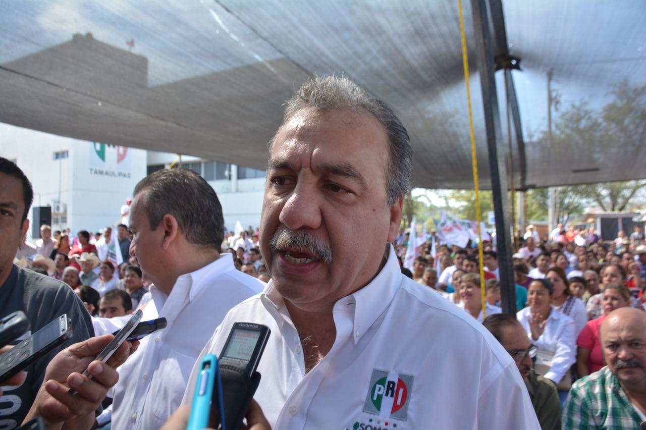El priismo en Tamaulipas, está más vivo que nunca: Sergio Guajardo