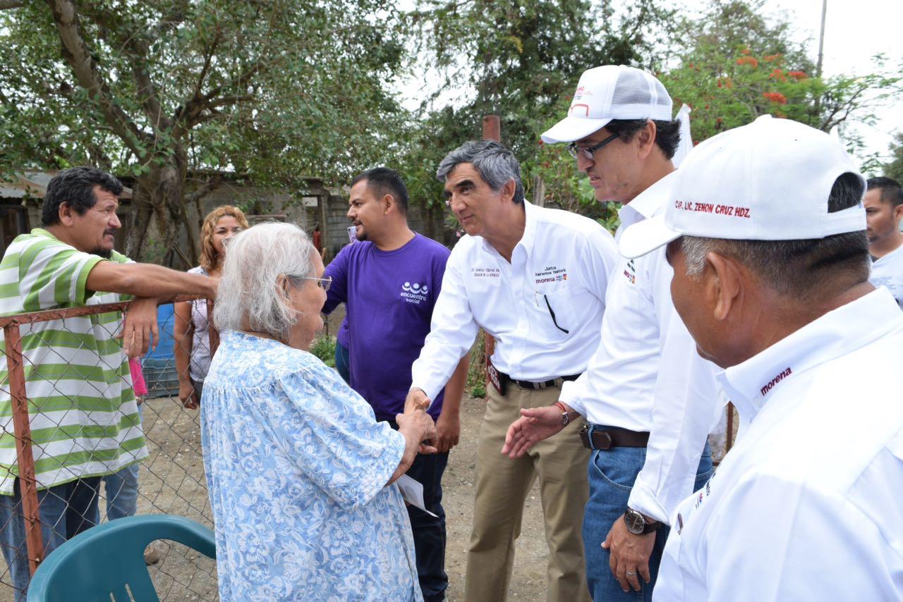 Suma Américo Villarreal apoyo de productores y ganaderos de Altamira