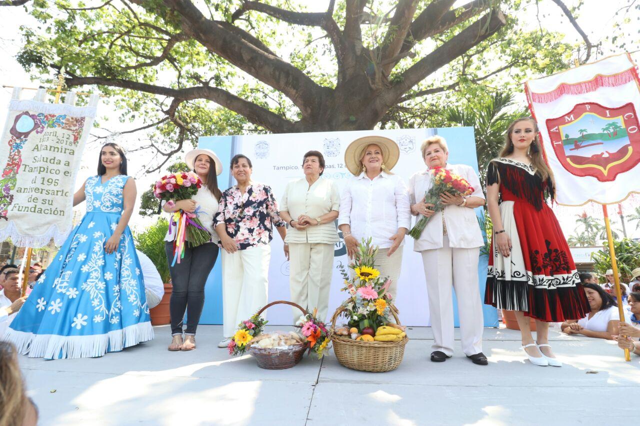 Conmemora Ayuntamiento 195 aniversario de la Fundación de Tampico