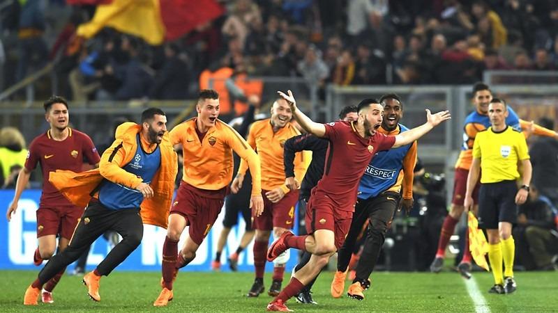 AS Roma rompe pronósticos y elimina de la Champions al Barcelona