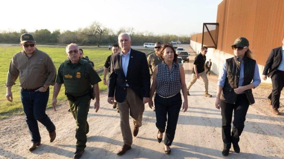 Mike Pence viajará a frontera con México el lunes