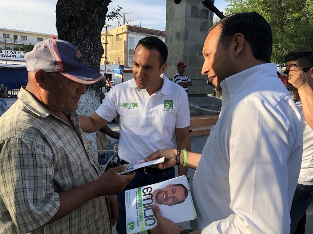 Cierra Patricio King primer mes de campaña fortaleciéndose en todo TAMAULIPAS