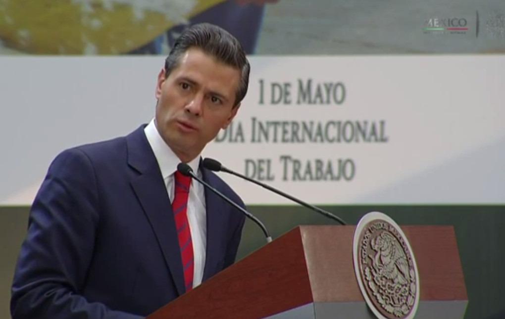 Empleos se generan por confianza de inversionistas, afirma Peña Nieto