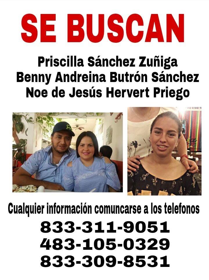 Siguen las desapariciones en el sur de Tamaulipas