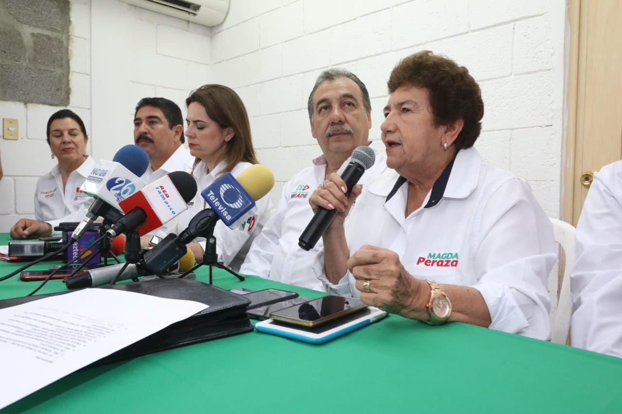 Haremos una campaña limpia y de trabajo: Magda Peraza