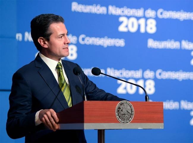 Desarrollo del país requiere de un gobierno que genere confianza Peña Nieto