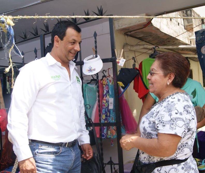 Respaldan vecinos de la colonia  Villahermosa al Verde Ecologista