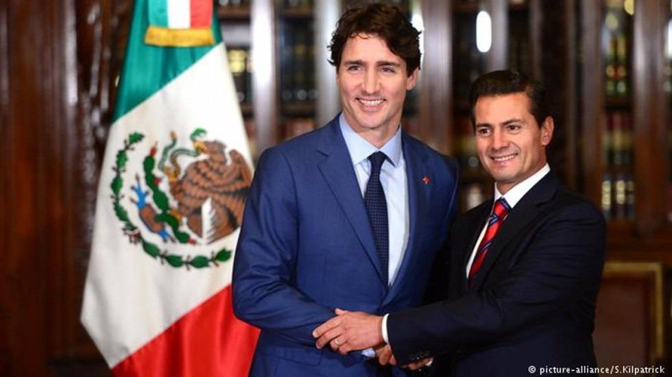 Peña Nieto y Trudeau condenan aranceles de EE.UU.