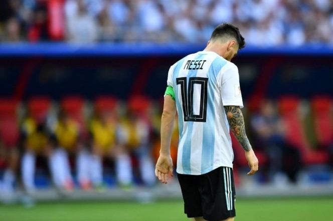 'Apagado Messi', 'Peor actuación', así lamentan en Argentina