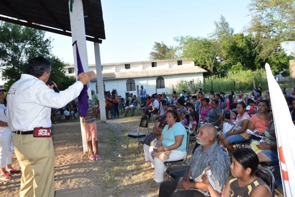 Fortalece Américo Villarreal alianzas con ejidatarios de Victoria