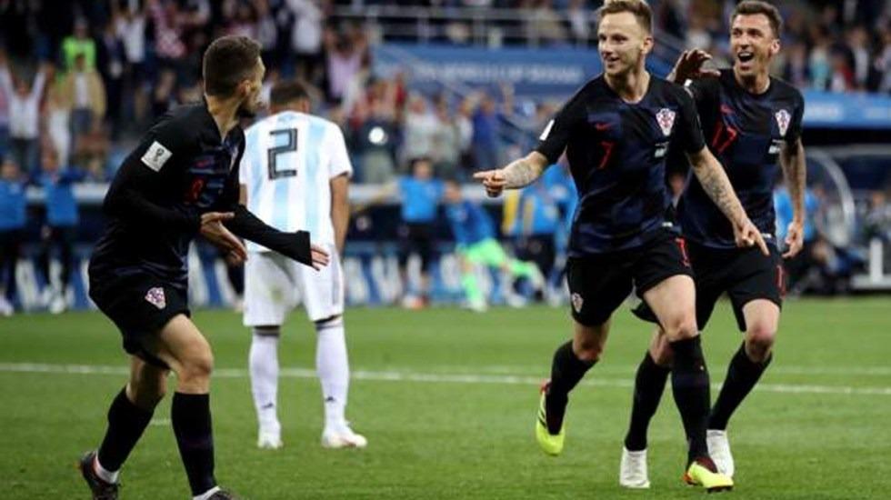 Croacia clasifica a octavos con goleada sobre Argentina