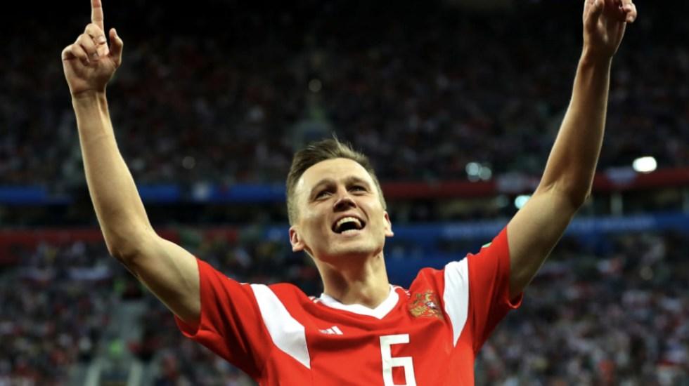 Rusia pone pie y medio en Octavos de Final del Mundial 2018