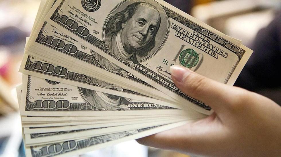 Aranceles entre EE.UU. y China cotizan el dólar a 21.28 pesos