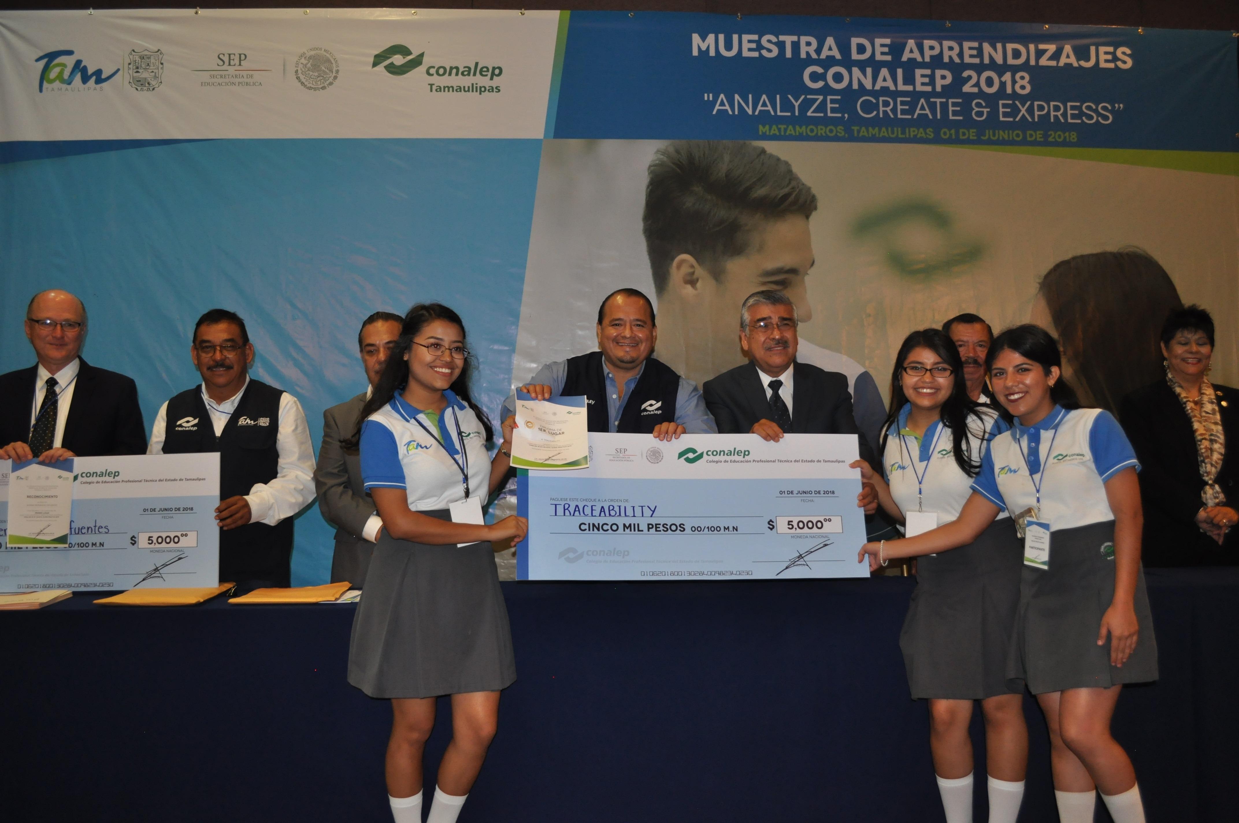 Realiza Conalep Tamaulipas muestra de aprendizajes 2018