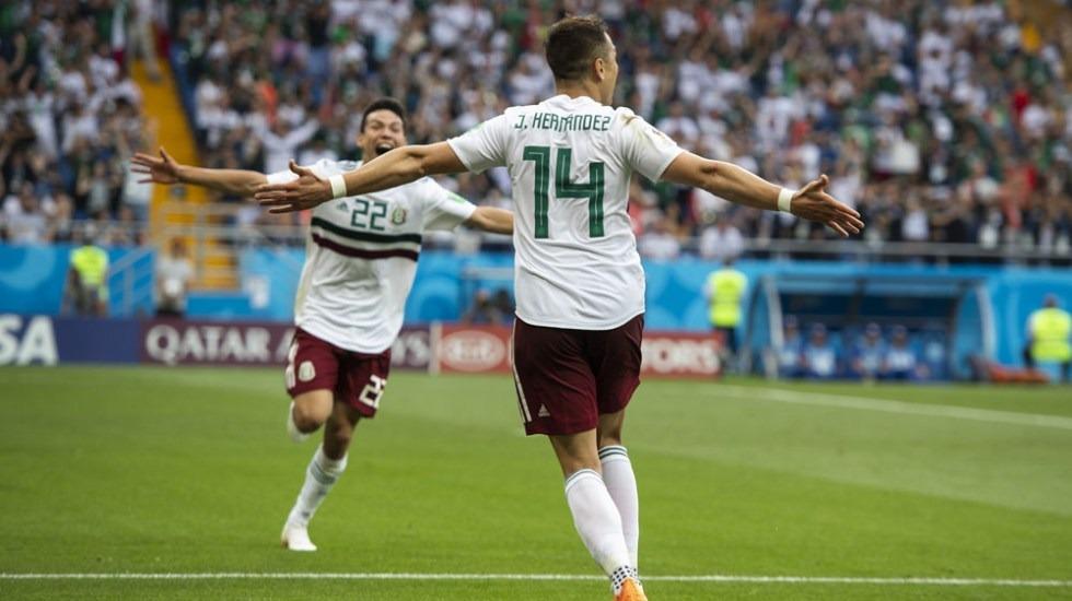 México vence a Corea del Sur y lo elimina del Mundial