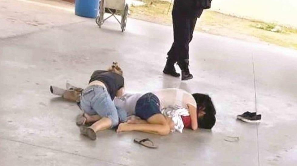 Bala perdida mata a menor dentro de su escuela en Reynosa