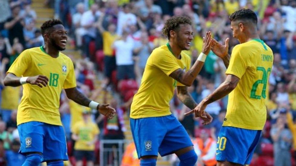 Neymar reaparece y anota en amistoso contra Croacia