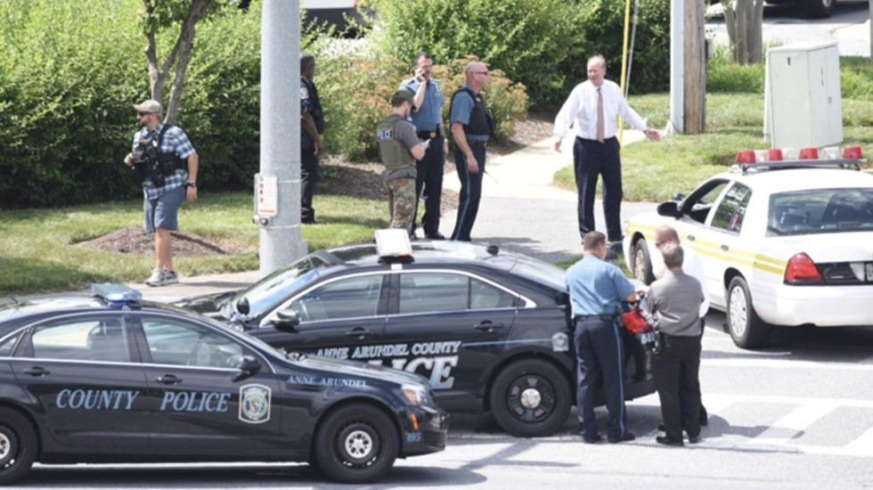 Tiroteo en periódico de Maryland deja al menos cinco muertos