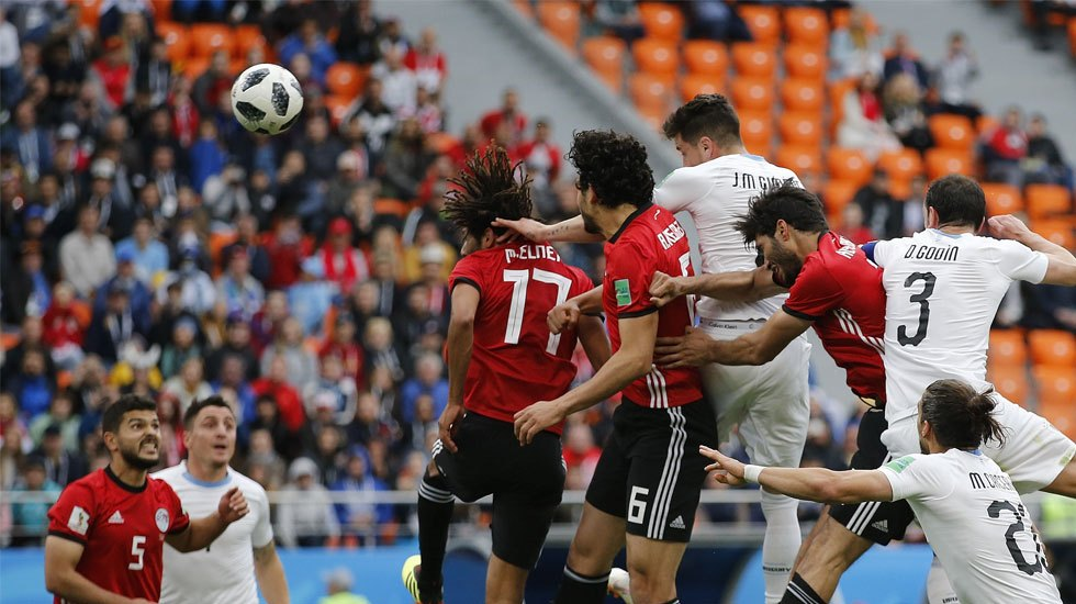 Uruguay vence a un complicado Egipto