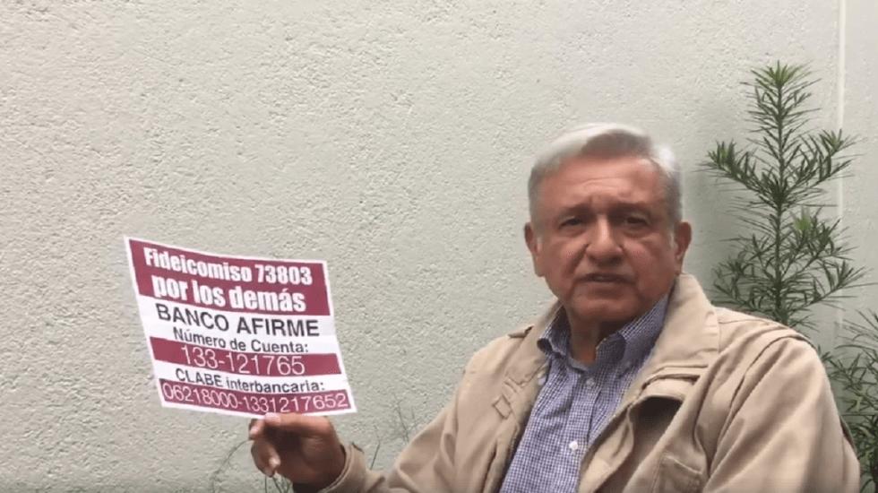 """""""Es una vil venganza"""": AMLO condena multa del INE a Morena"""