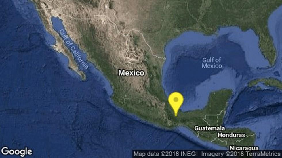 Sismo 4.8 sacude Veracruz