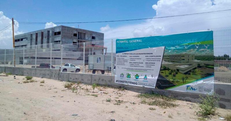 Arrancará operaciones nuevo hospital de Madero en 2019