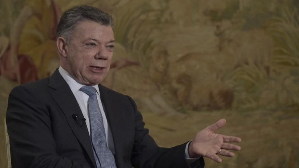 Juan Manuel Santos responde acusaciones de Maduro