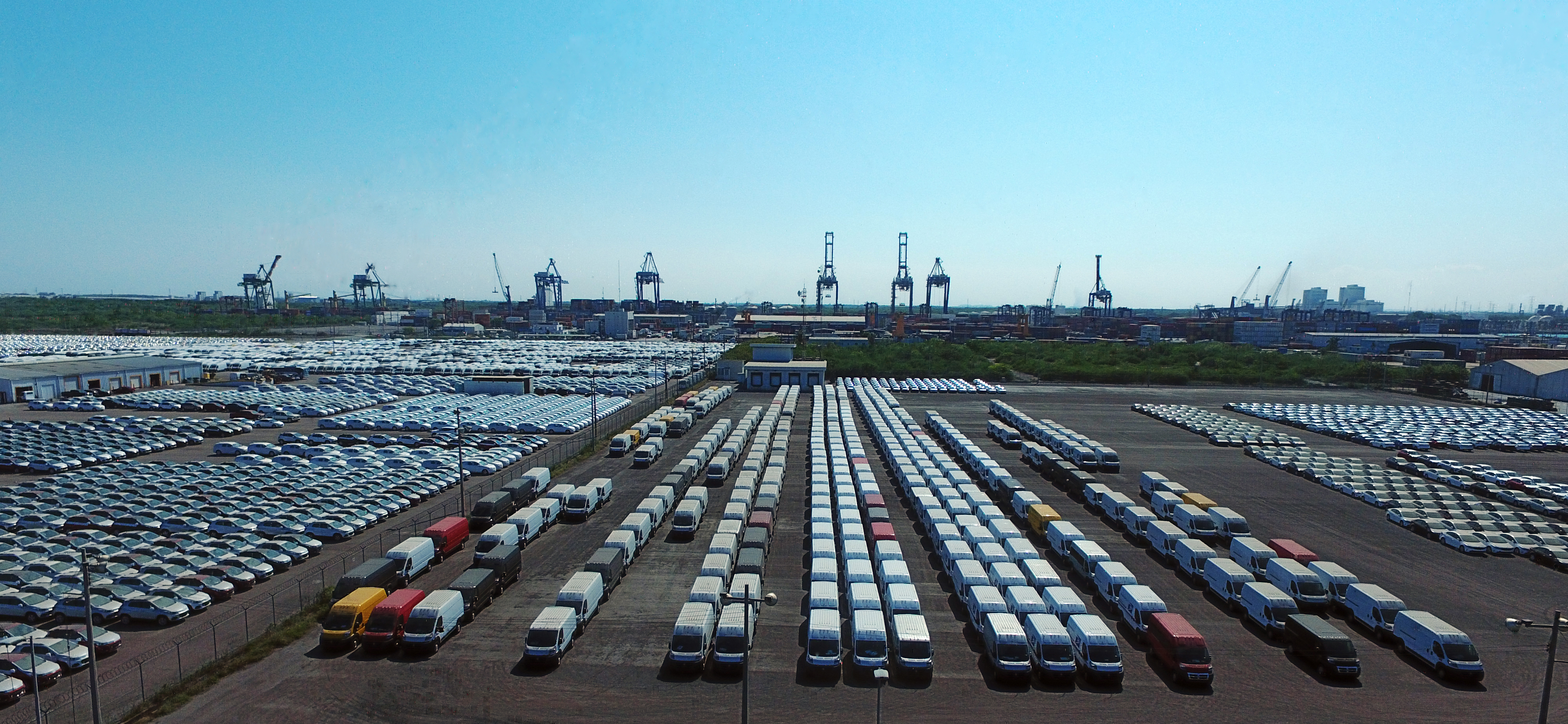 Registra Puerto de Altamira crecimiento en autos del 55%