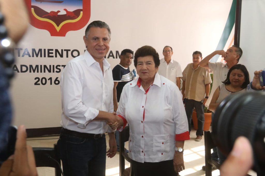 """""""Deseo lo mejor a la administración que viene"""": Magdalena Peraza"""