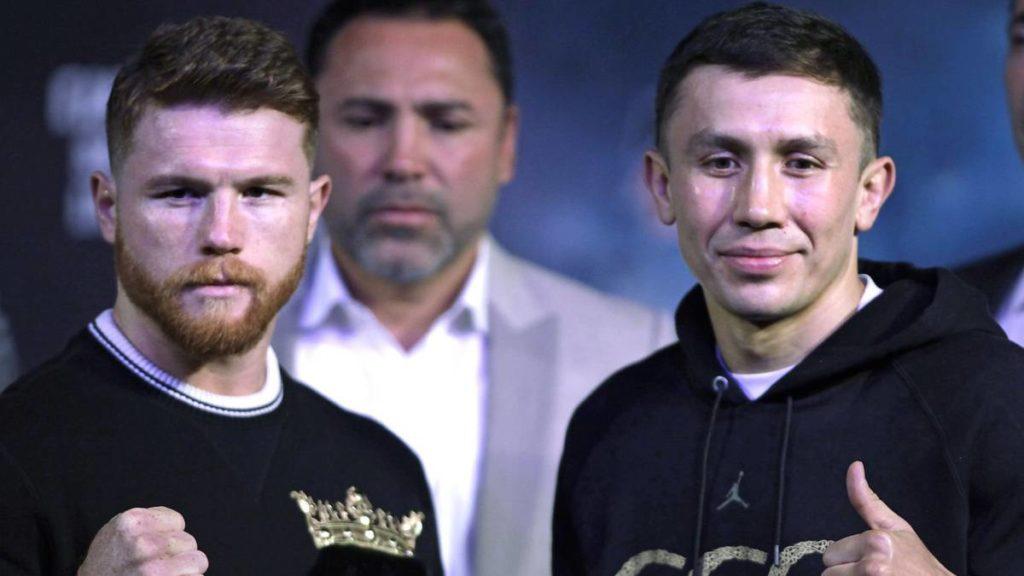"""Canelo"" y Golovkin se juegan supremacía en boxeo mundial"