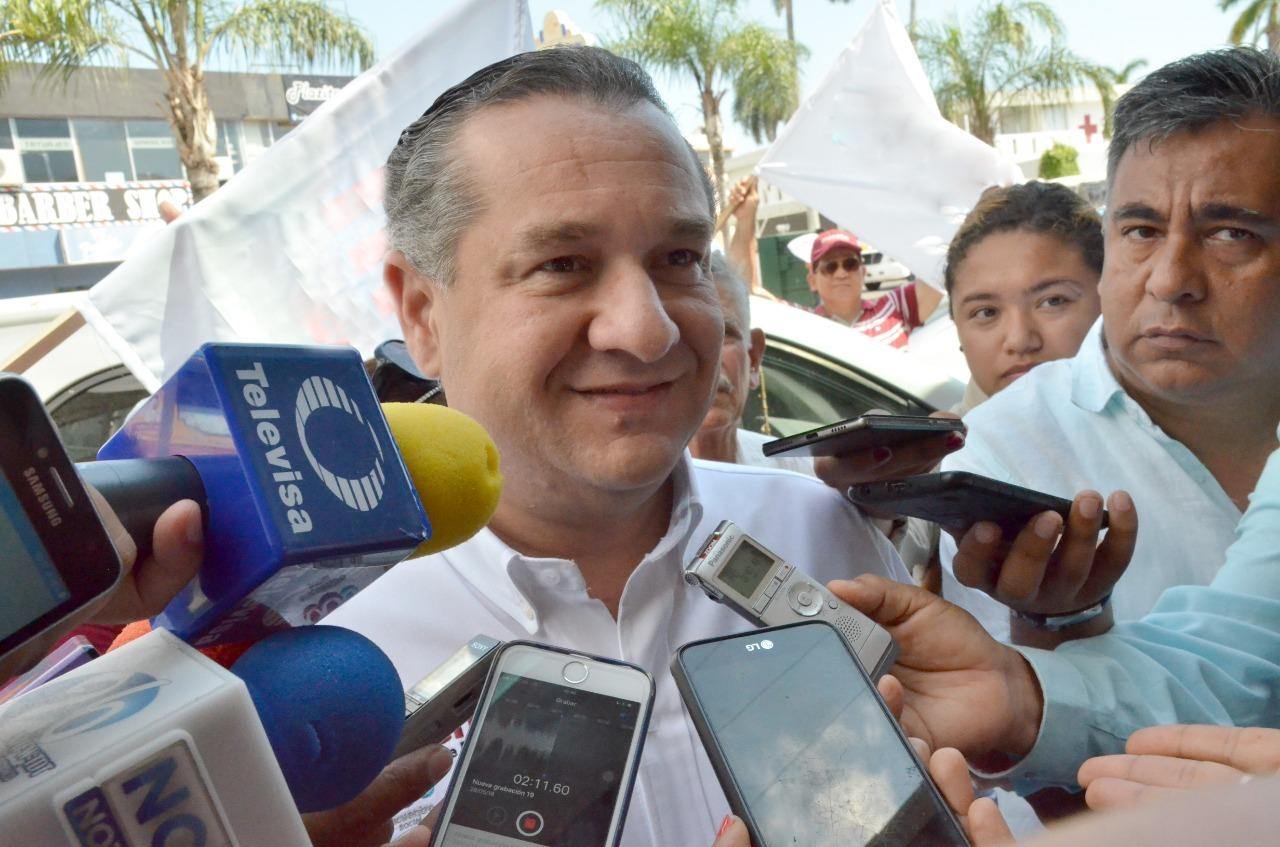 ADVIERTE Adrián Oseguera que procederá si hay anomalías