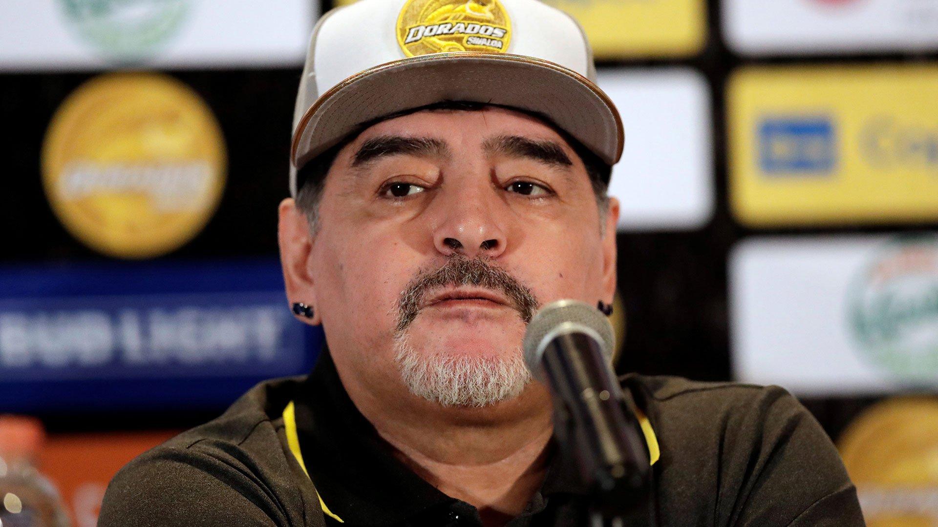 Maradona llega ilusionado a Dorados